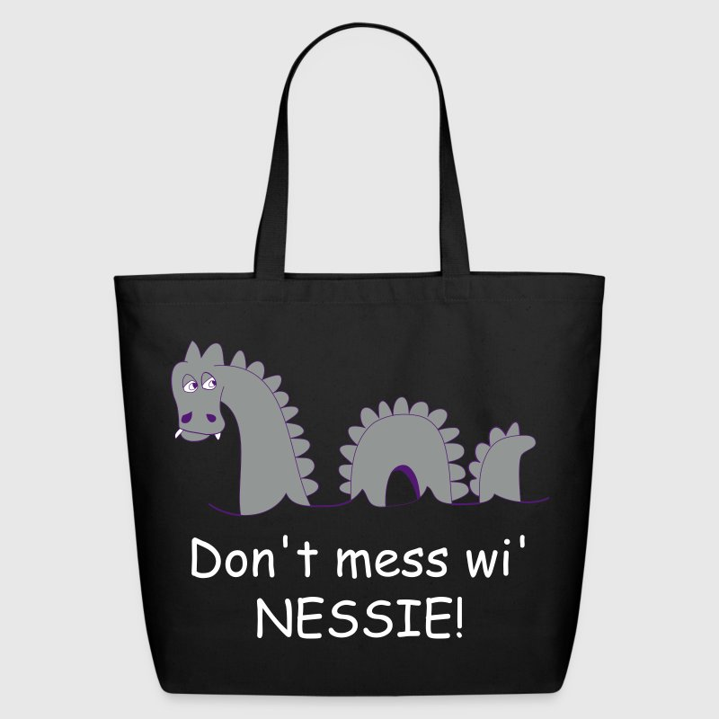 Loch Ness Monster, affectionately known as Nessie! - Eco-Friendly Cotton Tote