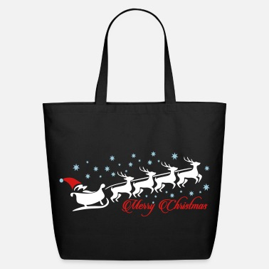 Christmas Merry Christmas  - Eco-Friendly Cotton Tote