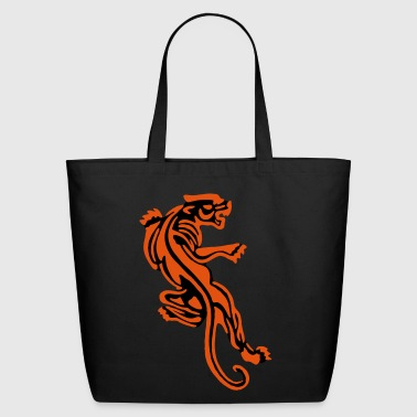 Old School Tiger Old School Tattoo Icon patjila2 - Eco-Friendly Cotton Tote