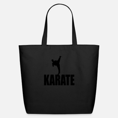Karate karate kick - Eco-Friendly Cotton Tote