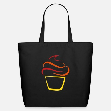 Cupcake Cupcake pen drawing - Eco-Friendly Tote Bag