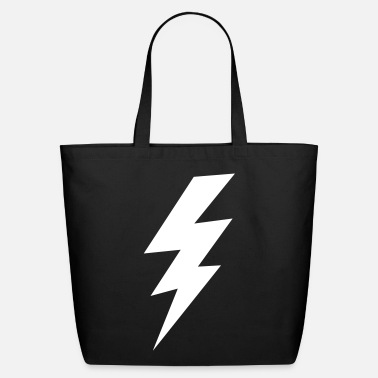 Lightning Bolt thunder lightning bolt flash - Eco-Friendly Cotton Tote