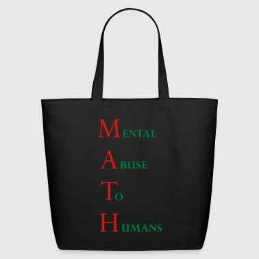 math - Eco-Friendly Cotton Tote