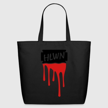 Bloody razor blade - Eco-Friendly Cotton Tote