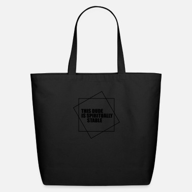 Dude this dude is - Eco-Friendly Cotton Tote