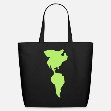 South America simple americas AMERICA CANADA MEXICO South AMERICA - Eco-Friendly Cotton Tote