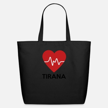Tirana Heart Tirana - Eco-Friendly Cotton Tote