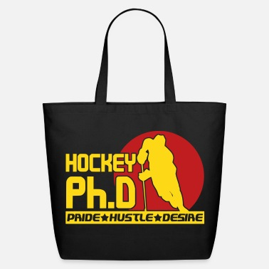 Ph.d. Hockey Ph.D  - Eco-Friendly Cotton Tote