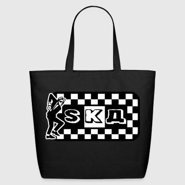 Rhombus Ska squares Dance - Eco-Friendly Cotton Tote
