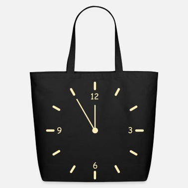 Clock Clock - Eco-Friendly Cotton Tote