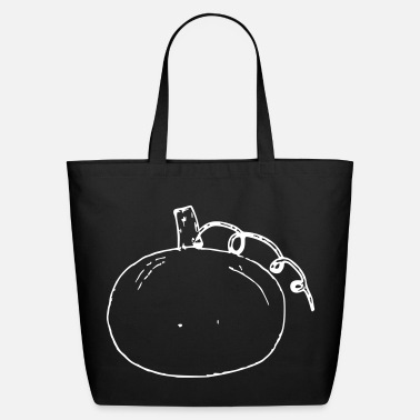 Customizable Pumpkin free color choice customizable - Eco-Friendly Cotton Tote