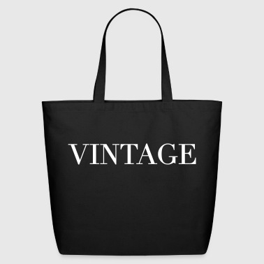 Vintage - Eco-Friendly Cotton Tote