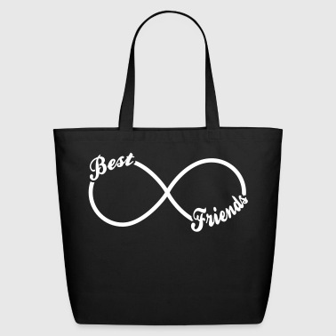 Best BFF Best Friends Forever - Eco-Friendly Cotton Tote