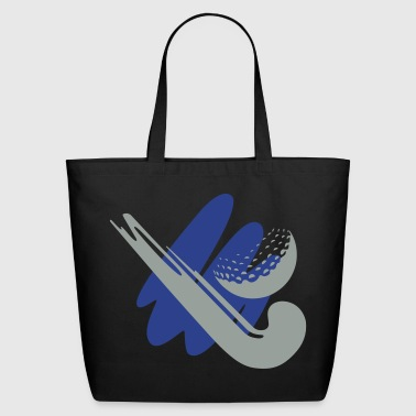 Field Hockey hockey stick - Eco-Friendly Cotton Tote