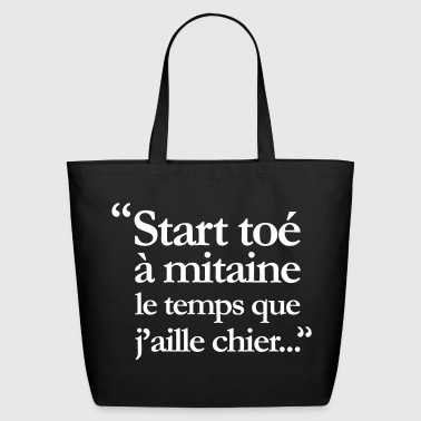Vulgar slogan - Eco-Friendly Cotton Tote