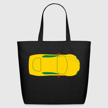 sportscar - Eco-Friendly Cotton Tote