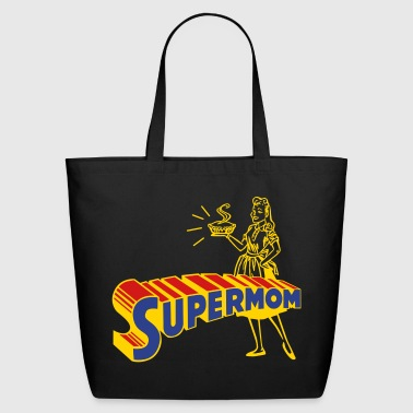 Mothers Day supermom - Eco-Friendly Cotton Tote