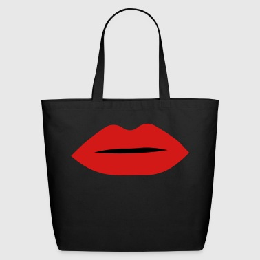lips - Eco-Friendly Cotton Tote