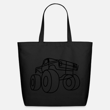 Monster Truck Monster truck - Eco-Friendly Cotton Tote