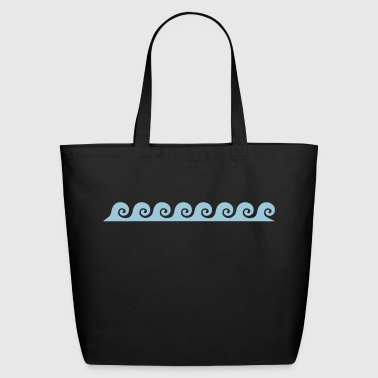 waves - Eco-Friendly Cotton Tote