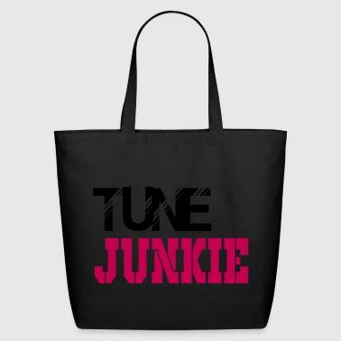 tune junkie - Eco-Friendly Cotton Tote