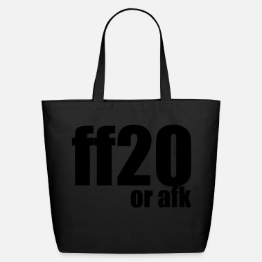 Afk ff20 or afk - Eco-Friendly Cotton Tote