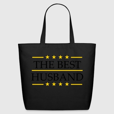 text the best world the best world husband husband - Eco-Friendly Cotton Tote