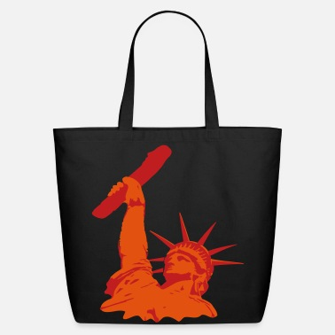Dildo statue of liberty dildo - Eco-Friendly Cotton Tote