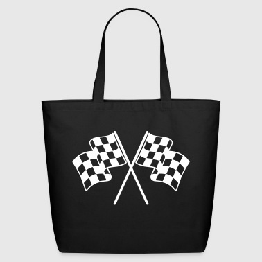 Checkered Flags - Eco-Friendly Cotton Tote