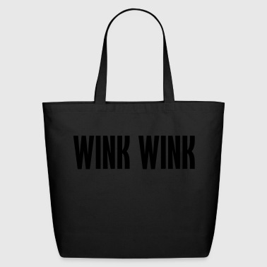 wink wink - Eco-Friendly Cotton Tote