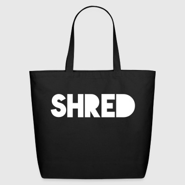 Shredded Shred - Eco-Friendly Cotton Tote