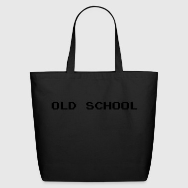 Old School Old School 8-Bit - Eco-Friendly Cotton Tote
