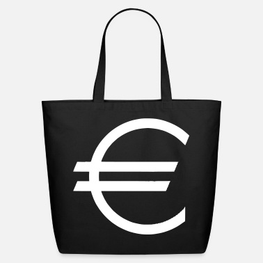 Euro Euro - Currency - Money - Dollar - Eco-Friendly Cotton Tote