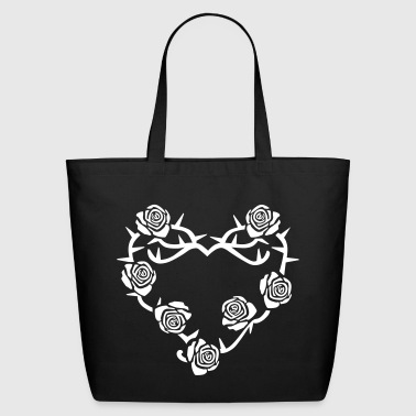 Roses and Thorns - Eco-Friendly Cotton Tote