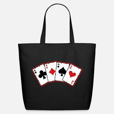 Cards cards - Eco-Friendly Cotton Tote