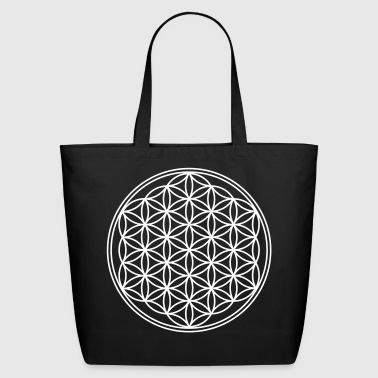 Geometry Flower Of Life - vector - Eco-Friendly Cotton Tote