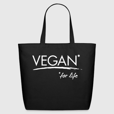 VEGAN for life - vector - Eco-Friendly Cotton Tote
