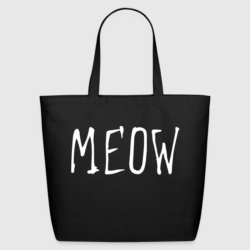 MEOW (1c) - Eco-Friendly Cotton Tote