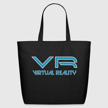 Vr VR Virtual Reality 3D Interaction - Eco-Friendly Cotton Tote