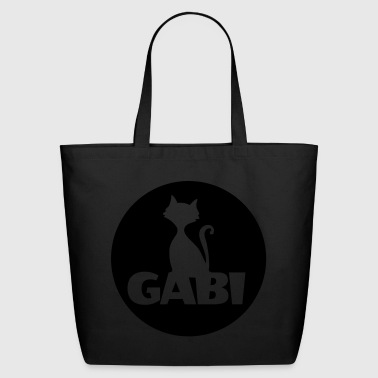 Gabi first name - Eco-Friendly Cotton Tote