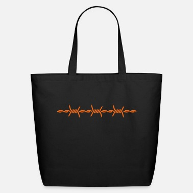 Barbed Wire barbed wire (1c) - Eco-Friendly Cotton Tote