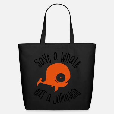 Save The Whales Save Whales - Eco-Friendly Cotton Tote