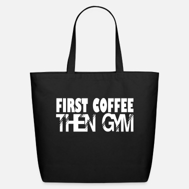 Gym then gym - Eco-Friendly Cotton Tote