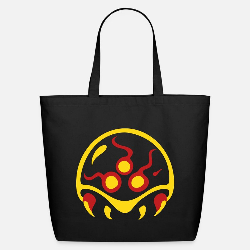 Video Bags & backpacks - Metroid Vector - Eco-Friendly Tote Bag black