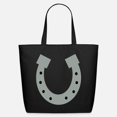 Horseshoe horseshoe - Eco-Friendly Cotton Tote