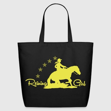 Cowgirl - Western riding - Eco-Friendly Cotton Tote