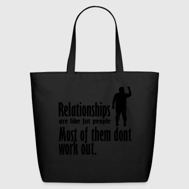 relationships - Eco-Friendly Cotton Tote