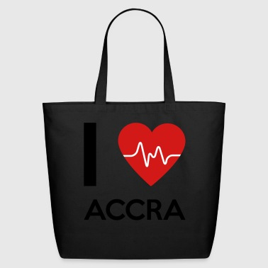 I Love Accra - Eco-Friendly Cotton Tote