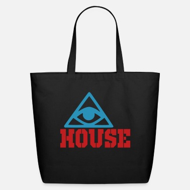 House house - Eco-Friendly Cotton Tote