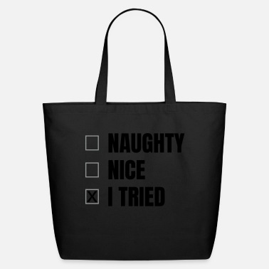 Funny funny saying - Eco-Friendly Cotton Tote